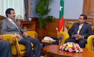 DP World Chairman meets Maldives President