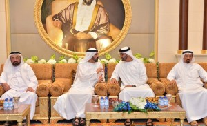 PM receive Rulers and Crown Princes