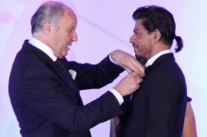 Shahrukh Khan receives top French honour