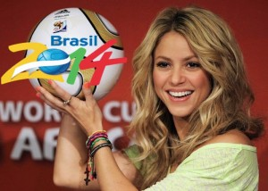 Shakira to headline at World Cup final