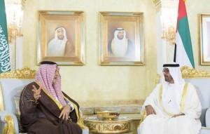 Sheikh Mohamed bin Zayed meets Saudi FM