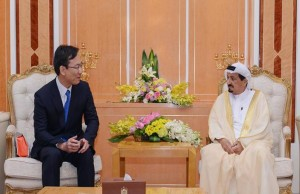 Ajman Ruler receives Consul-General of Japan
