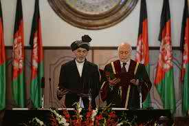 New Afghan President swears in