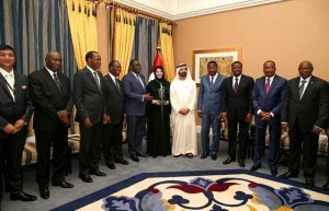 PM meets six West African Presidents