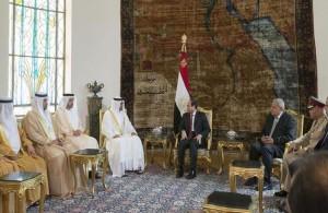 Sheikh Mohamed bin Zayed meets Egypt's President