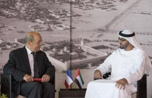 Sheikh Mohamed bin Zayed meets French Defence Minister