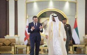 Sheikh Mohamed bin Zayed meets Georgia's PM