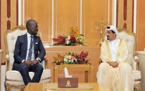 Ajman Ruler receives South African Minister of Home Affairs