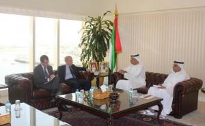 Al Tayer meets Italian envoy
