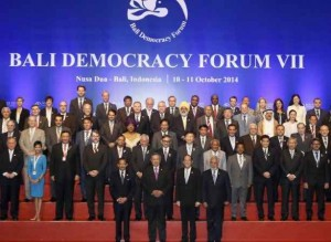 Bali Democracy Forum ends