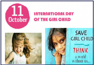 International Day of the Girl Child celebrated