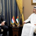 Sheikh Abdullah meets Luxembourg PM