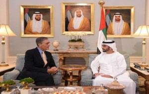 Sheikh Hamdan bin Zayed meets UK's Duke of Westminster