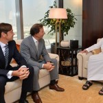 Sheikh Maktoum bin Mohammed meets CEO of Richemont