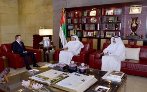 Sheikh Mansour bin Zayed receives FM of Belarus