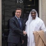 Sheikh Mohamed bin Zayed meets British PM