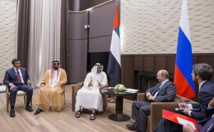 Sheikh Mohamed bin Zayed meets Russian President