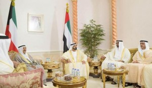 Rulers hold talks with Amir of Kuwait
