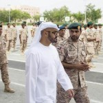 Sheikh Mohamed bin Zayed visits military recruits