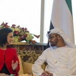 Sheikh Mohammed bin Zayed meets Panama's VP