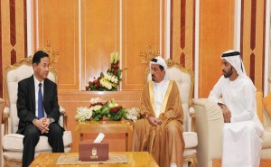 Ajman Ruler receives Chinese Consul-General