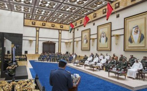 Sheikh Mohammed bin Zayed visits Ministry of Defence