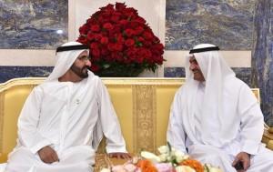 Sheikh Mohammed visits Fujairah Ruler