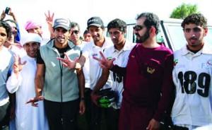 Sheikhs attend race at Al Wathba Endurance Village