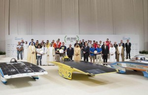 Abu Dhabi Solar Challenge winners honoured
