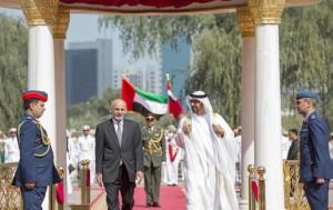 Afghan President visits UAE