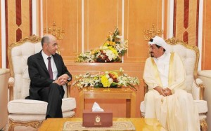Ajman Ruler receives new French Consul-General