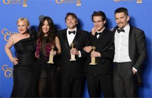 Boyhood wins big at Golden Globes