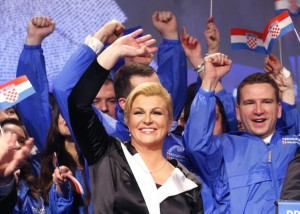 Croatia elects first woman president
