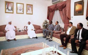 Fujairah Ruler receives Al Hilal Sudanese Club members