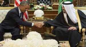 Obama meets new Saudi king