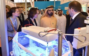 PM inaugurates Arab Health Exhibition