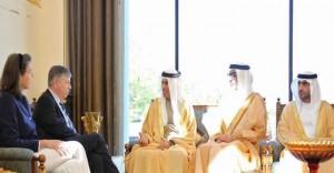 RAK Ruler receives Belgium Minister