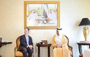 RAK Ruler receives British Ambassador