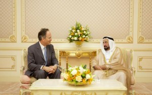 Sharjah Ruler receives British Ambassador