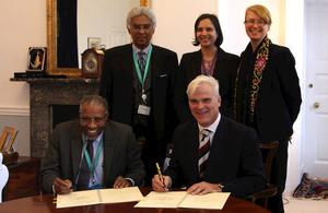 UK partners with Islamic Development Bank