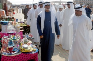 Winners of camel contests honoured