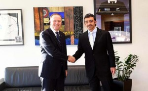 FM meets PM of New Zealand