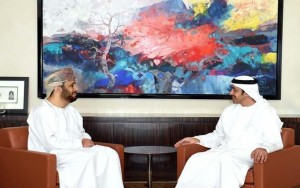 FM receives a note from Omani counterpart