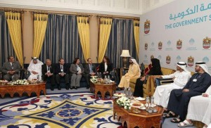 PM receives Arab Ministers