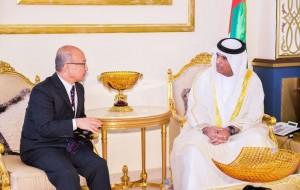 RAK Ruler receives S.Korean Minister of Health