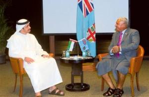 Sheikh Abdullah meets Fijian FM