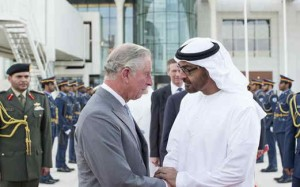 Sheikh Mohamed bin Zayed meets Prince Charles