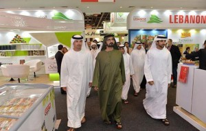 Sheikh Mohammed tours Gulfood