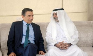 Sheikh Nahyan receives Tunisian Defence Minister