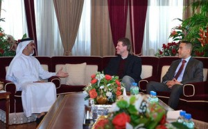 Sheikh Saif bin Zayed meets NYPD Deputy Chief